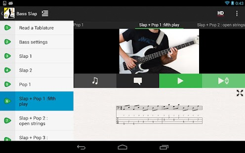 SLAP Bass Lessons HD VIDEOS- screenshot thumbnail