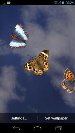 Flying Bugs Live Wallpaper