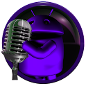 poweramp skin android purple