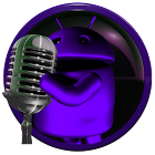 poweramp skin android purple icon