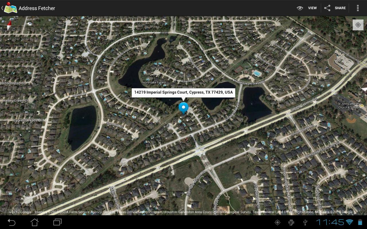 Address Finder - screenshot