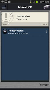iMap Weather Radio- screenshot thumbnail
