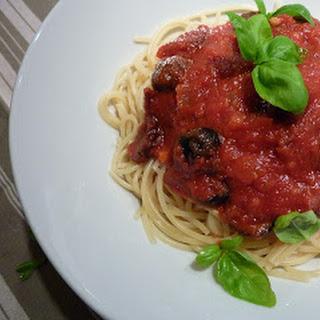 Sun-dried Tomato Spaghetti.