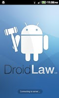 Screenshot of Legal Dictionary for DroidLaw