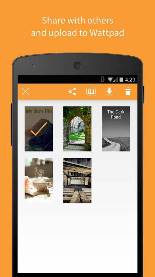 Best Book Cover Making Apps ~ Covers by wattpad android apps on google play