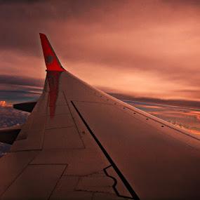 by Awang Kassim - Transportation Airplanes ( aircraft )