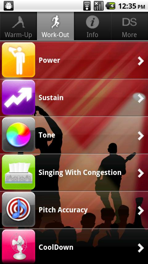 Singing For Dancers, Male - screenshot