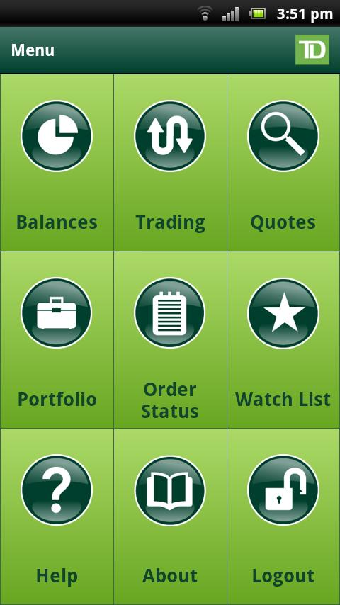 TD International - screenshot