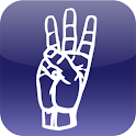 ASL American Sign Language logo