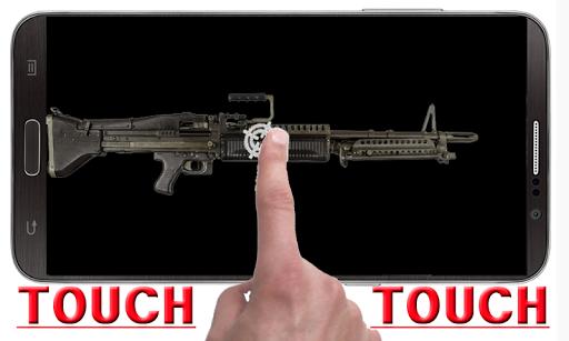 M60マシンガンショット音