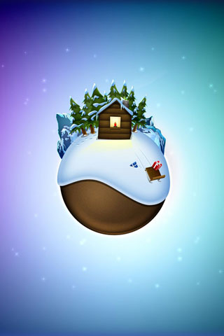 3D Snow Wallpapers - screenshot