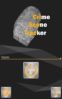 Screenshot of Crime Scene Tracker