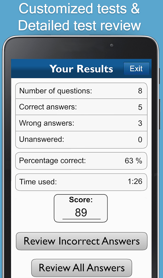 Aptitude Test Trainer- screenshot