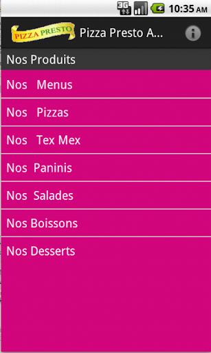 Pizza Presto Argentan