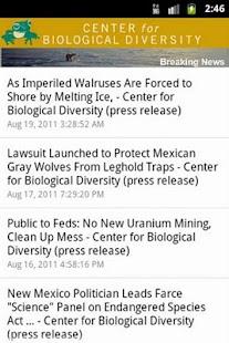 Species Finder- screenshot thumbnail