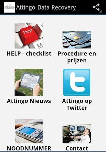 Attingo Datarecovery App