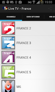 Live TV France (French) - screenshot thumbnail