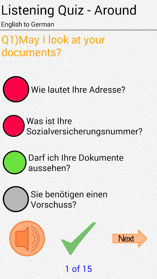 Learn German for Beginners - screenshot