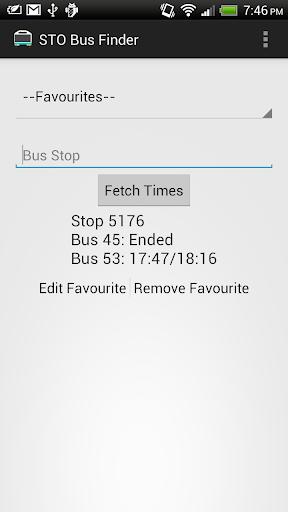 STO Bus Finder