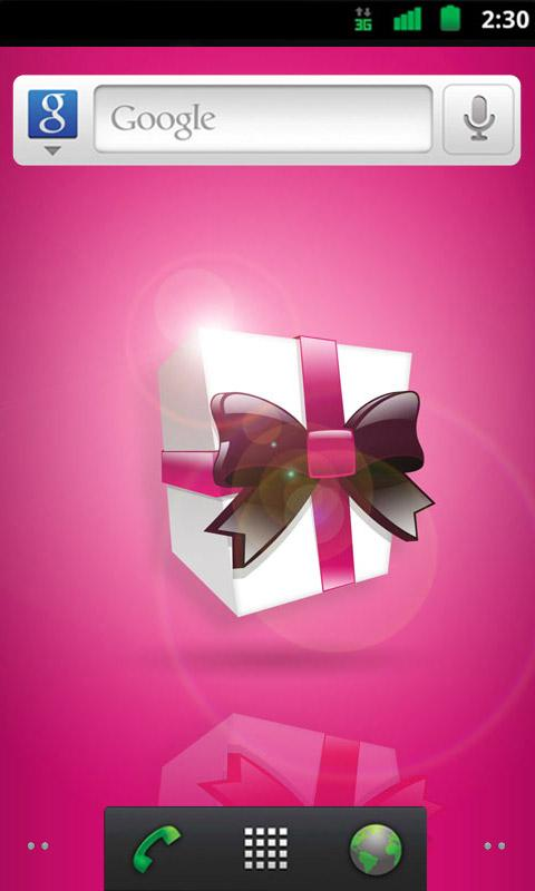 Pink Christmas Wallpapers - screenshot