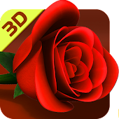 Rose 3D Wallpaper