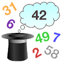 Magic numbers mind reader icon