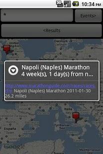 Race Search Map- screenshot thumbnail