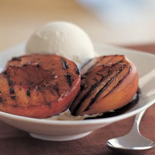 Grilled Balsamic-Glazed Nectarines