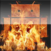 Rage Icons Fire Theme