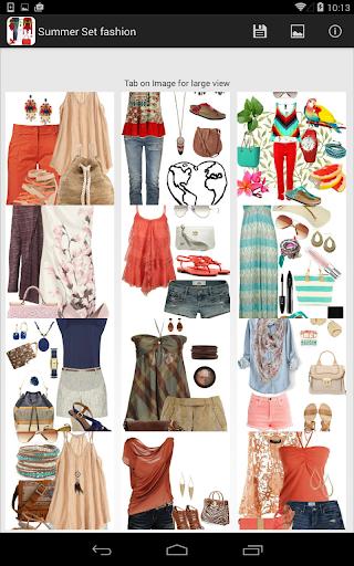 夏季時尚套裝