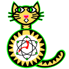 Quantum Cat Clock icon
