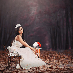 alone by Danis More - Wedding Bride (  )