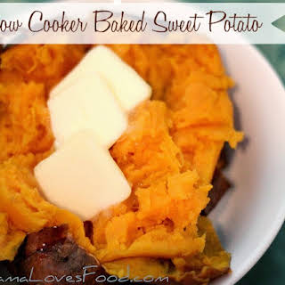 How to Bake a Sweet Potato in the Crock Pot.