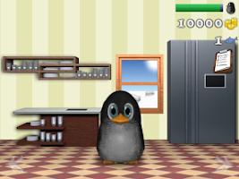 Screenshot of Puffel the penguin