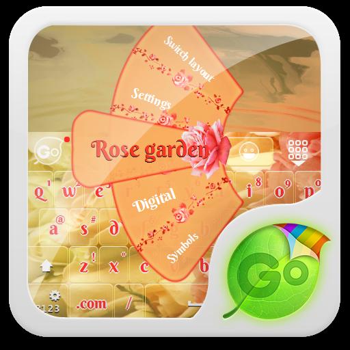 玫瑰園 GO Keyboard 個人化 App Store-愛順發玩APP