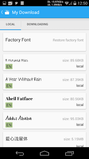 iFont(Expert of Fonts) 5.9.4 Screenshots 4