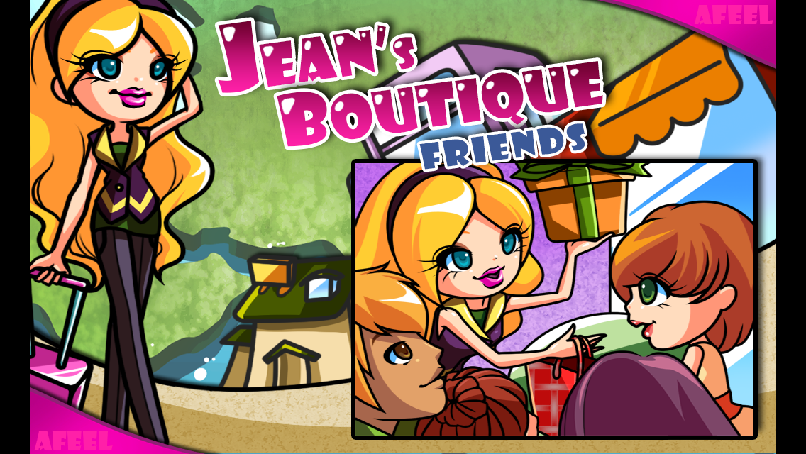 Jean's Boutique Friends- screenshot