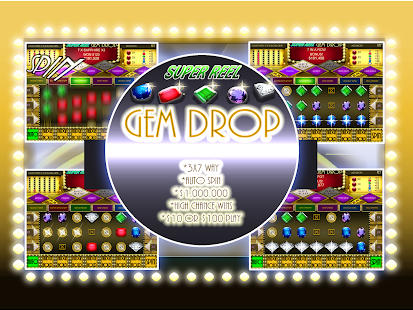 Superreel gem drop match 3 android free app store for Fishing bob slot machine