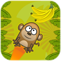 Hungry Monkey - Tilt & Jump icon