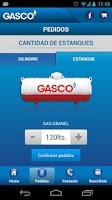 Screenshot of GASCO MOVIL