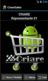 CriareSales - Força de Venda- screenshot thumbnail