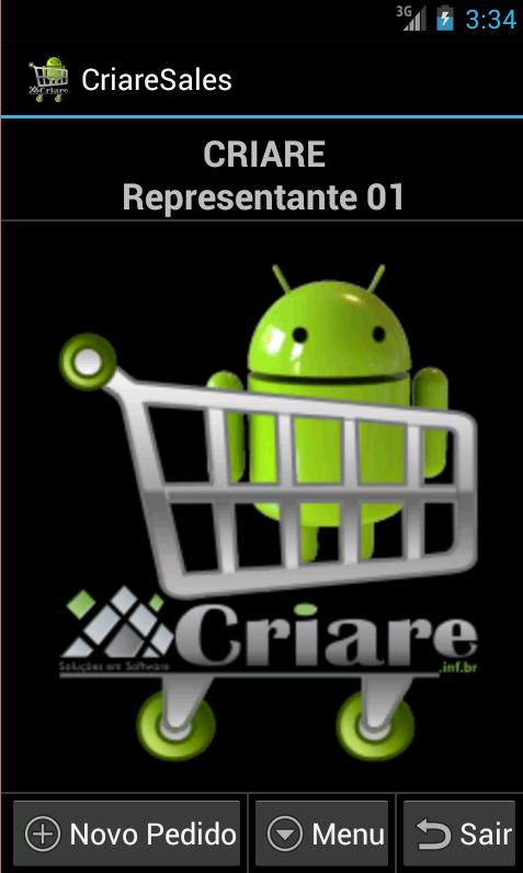 CriareSales - Força de Venda- screenshot