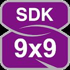 ナンバープレイス 9x9 片指入力 icon