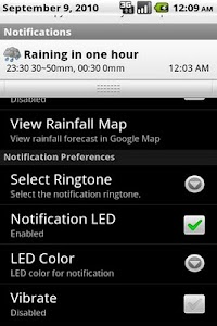 HKRainDroid screenshot 0