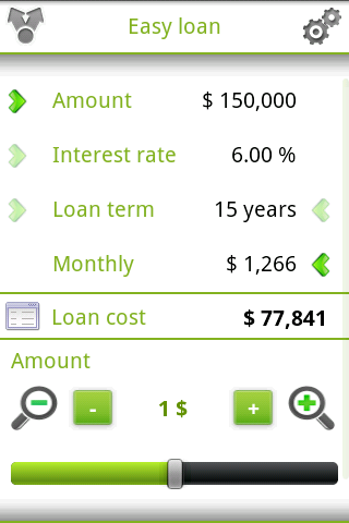 Easy loan - screenshot