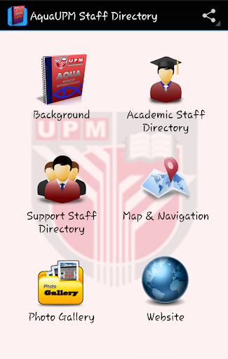AquaUPM Staff Directory