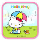 Hello Kitty Cool Rainy Theme icon