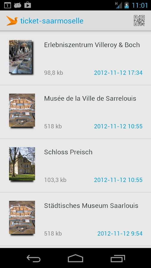 Ticket Saarmoselle - screenshot