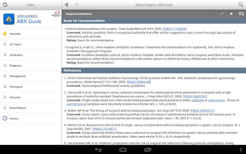 玩免費醫療APP|下載Johns Hopkins ABX Guide app不用錢|硬是要APP