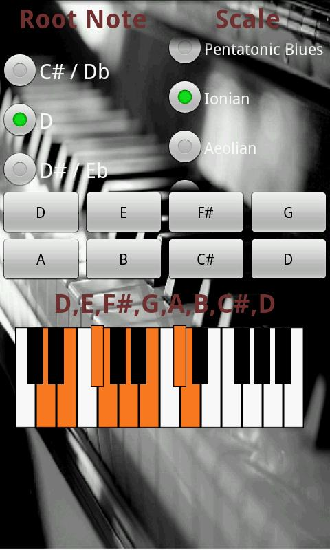 Piano Tutor - screenshot